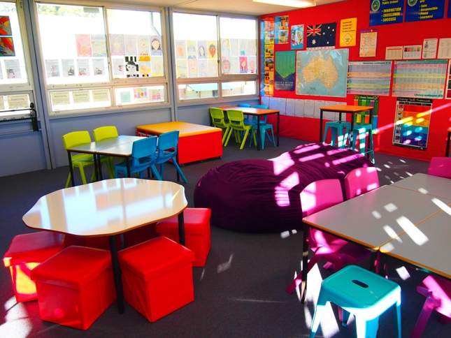 Innovative English Classrooms ~ Quakers hill public school keen to embrace future focused